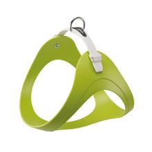 FERPLAST Ergoflex - wytrzymałe i elastyczne szelki dla psa wykonane z gumy typu hi-tech, zielone