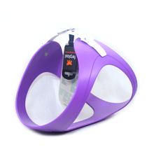 FERPLAST Ergoflex - wytrzymałe i elastyczne szelki dla psa wykonane z gumy typu hi-tech, fioletowe
