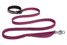 RUFFWEAR Roamer Leash Purple - smycz spacerowa oraz do sportów z psem, fioletowo/szara 2,2m