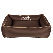 Cazo Outdoor - wodoodporne legowisko dla psa ze ściąganym pokrowcem, brązowe