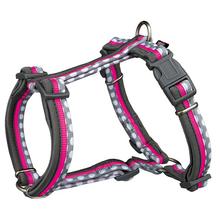 TRIXIE Freshline Spot - szelki dla psa różowo/szare