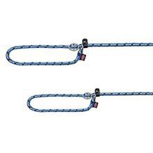 TRIXIE Mountain Rope - smycz dławikowa dla psa, idealna dla pasjonatów górskich wycieczek, niebiesko/zielona