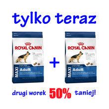 ROYAL CANIN Maxi Adult- karma dla psów dorosłych ras dużych 2 x 15 kg - PROMOCJA!