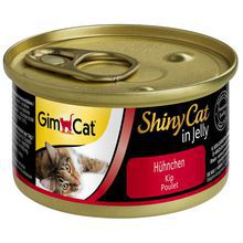 GIMPET Shiny Cat Kurczak - mięsko w galarecie dla kota, puszka 70g