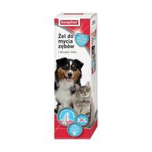 BEAPHAR Żel do mycia zębów (Tooth gel)- żel do czyszczenia zębów dla psa i kota 100g Nowa formuła z 3 enzymami!