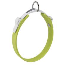 FERPLAST Ergoflex - wytrzymała i elastyczna obroża dla psa wykonana z gumy typu hi-tech, zielona