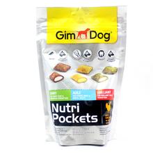 GIMDOG Nutri Pockets Shiny, Agile, Brilliant - mix przysmaków dla psa z kurczakiem, 150g
