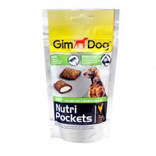 GIMDOG Nutri Pockets Shiny - przysmak dla psa z kurczakiem, 45g