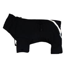 GRANDE FINALE – skafander softshell'owy dla psa, czarny