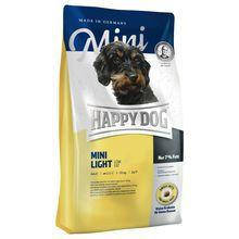 HAPPY DOG Mini Light- pełnowartościowa karma z niską zawartością tłuszczu dla psów ras małych, 300g +300g GRATIS!