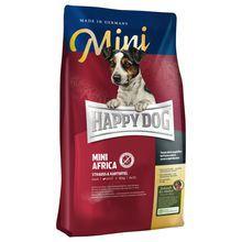 Happy Dog My Little Africa- karma dla psów małej rasy z mięsa strusiego, 300g+300g GRATIS!