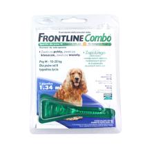 FRONTLINE Combo M - środek przeciw pchłom i kleszczom dla psów ras średnich (od 10 do 20kg), pipeta 1,34ml