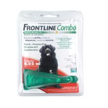 FRONTLINE Combo XL - środek przeciw pchłom i kleszczom dla psów ras olbrzymich (powyżej 40kg), pipeta 4,02ml
