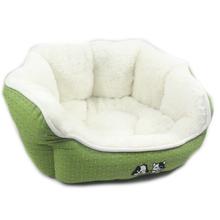 NOBBY pluszowe legowisko dla psa lub kota,zielone 45x40x19cm