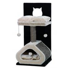 NOBBY Rosco – elegancki drapak dla kota, beżowo/czarny