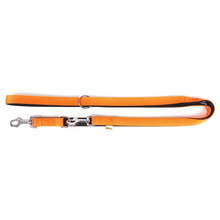DINGO Energy Extra - mocna smycz regulowana do prowadzenia psa, pomarańczowa