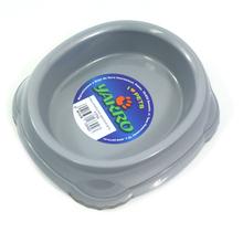 YARRO Smarty - miseczka plastikowa dla kota, srebrna 0,2L