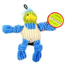 HUGGLE HUNDS – pluszowa zabawka z piszczałkami dla psa, wyjątkowa wytrzymałość! Mała Kaczka