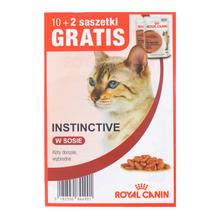 ROYAL CANIN Instinctive MEGAPAKA - karma dla kotów dorosłych, saszetki 10+2 GRATIS!