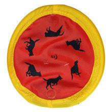 NITE IZE NiteDawg Disc - świecące frisbee dla psa, czerwone