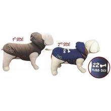 FERIBELLA Piumino Reversibile New York - dwustronna, przeciwdeszczowa kurtka dla psa