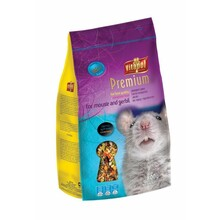 VITAPOL Premium Mysz i Myszoskoczek - pełnowartościowa karma premium dla myszy i myszoskoczka, 800g