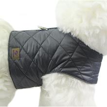 OSSO DI CANE Quilted Grey - ocieplane szelki dla psa