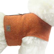 OSSO DI CANE Pumpkin Orange - ocieplane szelki dla psa