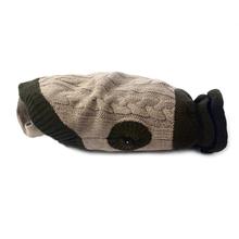 ZOLUX Pleciony sweterek z golfikiem dla psa, beżowo/brązowy