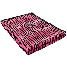 YORK DESIGN kocyk dla psa, różowy tygrysek