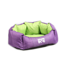 GOLDEN DOG Korona - legowisko dla psa, fioletowo/zielone