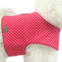 OSSO DI CANE Quilted Pink - pikowany kubraczek dla psa, różowy
