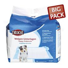 TRIXIE Nappy Housetrainer - pieluchy, maty higieniczne dla szczeniąt 50 szt.