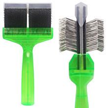 ACTIVET Pro Mega Green - szczotka z elastyczną główką, miękka, 9cm