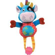 ZOLUX Pluszowy hipcio Edgar - zabawka dla szczeniąt z piszczałką