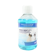 FRANCODEX Fresh Dent - Płyn do jamy ustnej dla psów i kotów 250ml