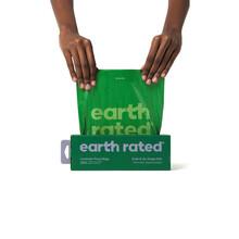 EARTH RATED PoopBags - biodegradowalne woreczki na psie kupy, zestaw 300 worków ZAPACH LAWENDY!