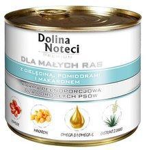 DOLINA NOTECI - pełnowartościowa karma dla dorosłych psów ras małych z cielęciną, 185g