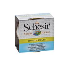 SCHESIR Tuńczyk z Cefalem w Rosole - 100% naturalna karma dla kotów, puszka 70g