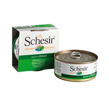 SCHESIR Filety z Kurczaka w galaretce - 100% naturalna karma dla psów, puszka 150g