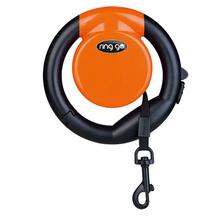 VITAKRAFT Ring Go – funkcjonalna smycz automatyczna, pomarańczowa