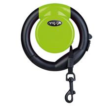 VITAKRAFT Ring Go – funkcjonalna smycz automatyczna, zielona