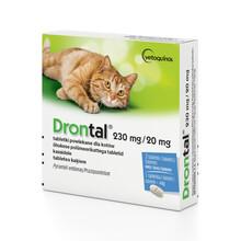BAYER Drontal - tabletki na odrobaczenie dla kotów, 2szt.