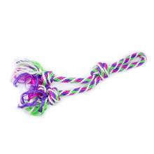 RIGA podwójny sznur z uchwytem dla psa, fioletowo/zielono/różowy