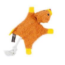 HYPER PET Cozy Krinkle Miś - szeleszcząca zabawka dla psa z piszczałką