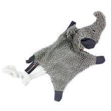HYPER PET Cozy Krinkle Słoń - szeleszcząca zabawka dla psa z piszczałką