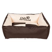 CAZO Outdoor XL - wodoodporne legowisko dla psa ze ściąganym pokrowcem, beżowo/brązowe