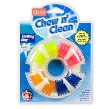 HARTZ Chew'n Clean Durable Chew Toy - gryzak dla psów w kształcie krążka