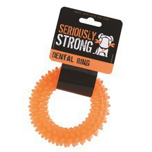 SERIOUSLY STRONG Dental Ring - gryzak gumowy dla psa