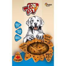MEAT HIT Skin & Coat - ciasteczka dla psów z rybami na zdrową skórę i sierść, 454g